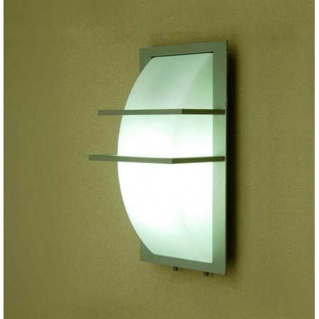 Lampe Salle De Bain Ip ~ applique ext rieure aluminium et verre opale ip 65