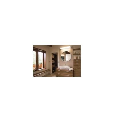 Réglette salle de bain modèle BLUR IP44 G13 T8 15W I.chromé