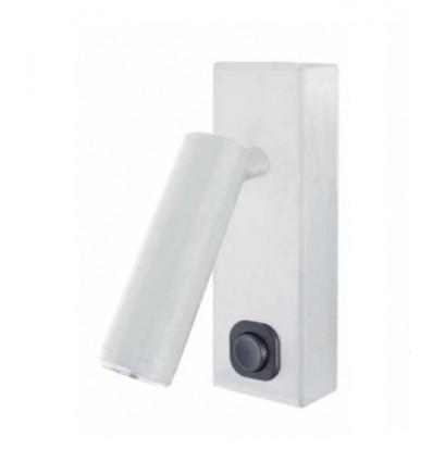 Toscana -Applique tête de lit - LED- 3 W -200 lm - 3000 K - blanche