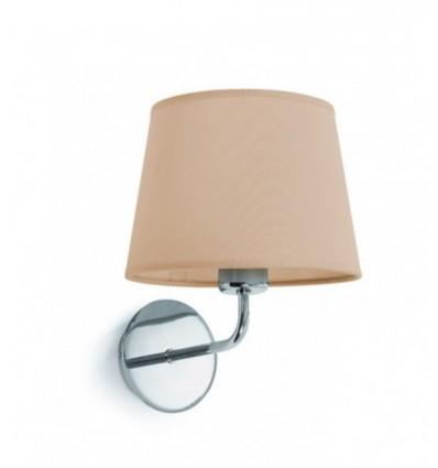 Applique tête de lit - maxi E27-60 w - Coloris socle chromé