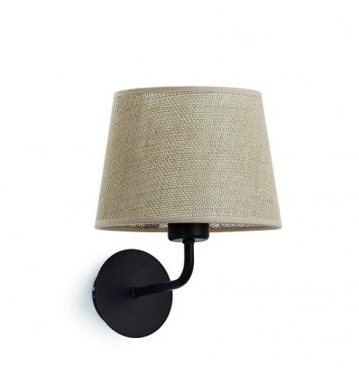 Applique tête de lit - maxi E27-60 w - Coloris socle noir