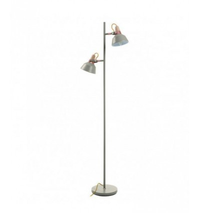 CLOE suspension petit modèle -Gris Pierre -IP20 - gamme Acier bi colore