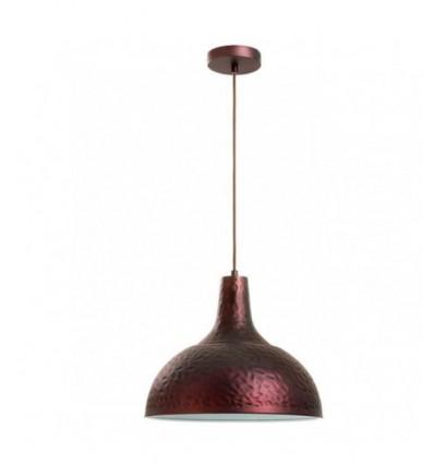 LIVIA- Suspension martelée en acier- coloris cuivre -IP20