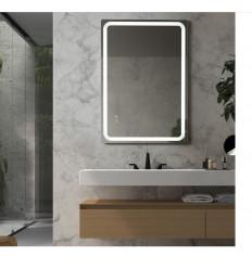 Miroir Salle de bain MINERVA - Anti-buée 21W. - Capteurs tactiles ON / OFF