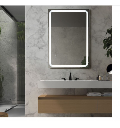 Miroir Salle de bain MINERVA - Anti-buée 29W. - Capteurs tactiles ON / OFF