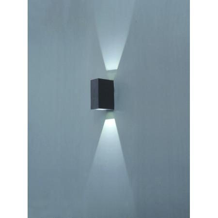 Applique Extérieure Eclairage Haut Et Bas applique ufo - eclairage double haut et bas ip 54-ik08- angle 43°